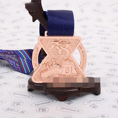 西努沙登加拉奖牌创意异型奖牌定做