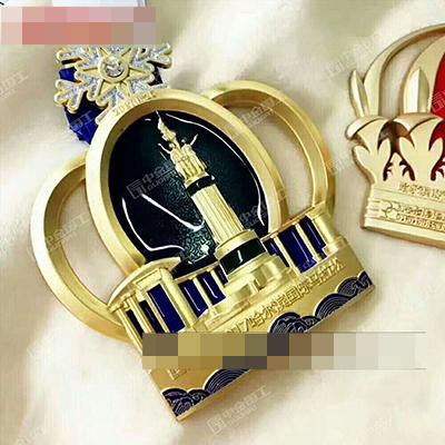 哈尔滨国际马拉松纪念奖牌
