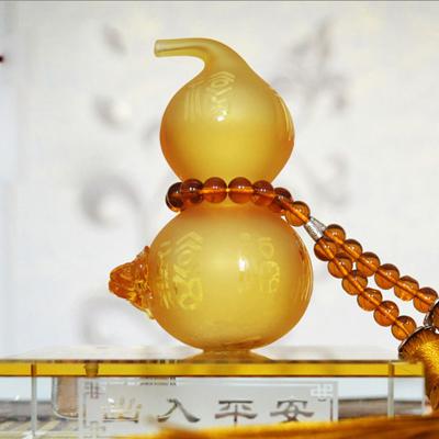 琉璃葫芦香水座汽车摆件 汽车礼品开发设计