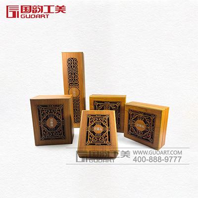 手工镂空雕刻木盒珠宝盒子定做