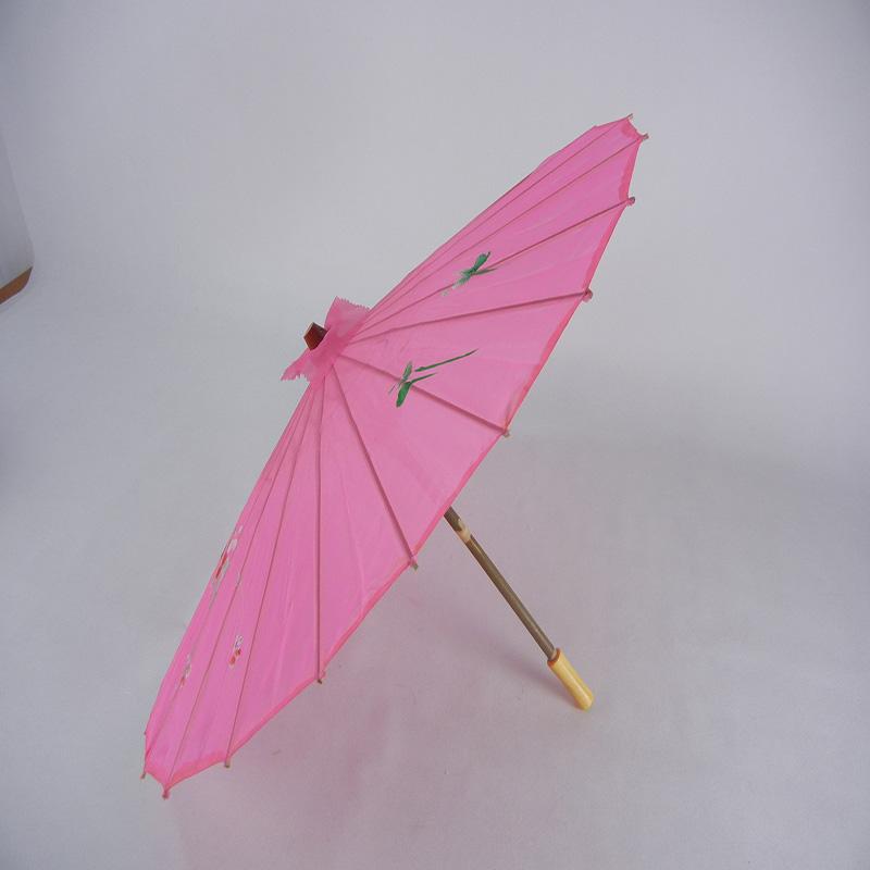 手绘舞蹈棉布伞定制