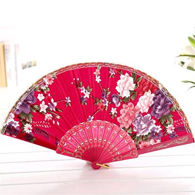 手绘折扇纸伞海报
