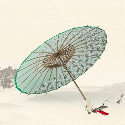 油纸伞古典江南古风伞吊顶装饰伞定制