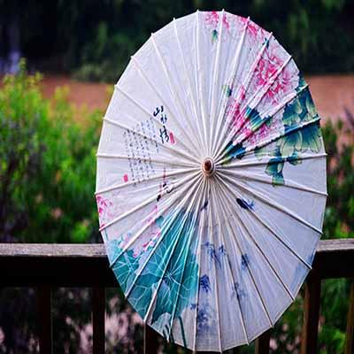 古典古风装饰油纸伞定制