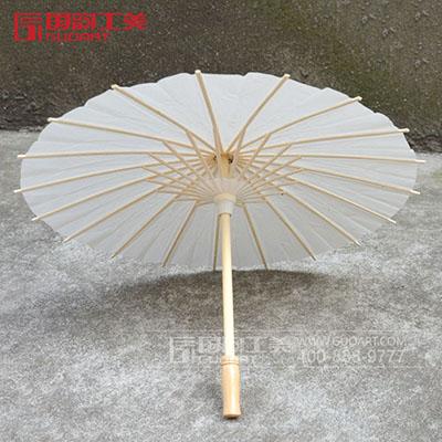 创意纯色手工油纸伞节日礼品定做